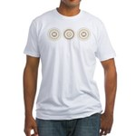Cool Mod Mom Dots Mother's Day Fitted T-Shirt