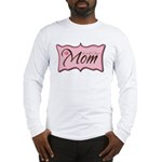 Pink World's Best Mom Plaque Long Sleeve T-Shirt
