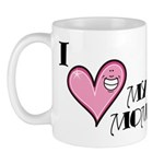 I Love Heart My Mom Mother's Day Mug