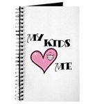 My Kids Love Heart Me Mom Teacher Journal