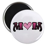 Tattoo Mom Pink Heart Mother's Magnet