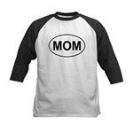 Mom European Oval Mother's Day Kids Baseball Jerse