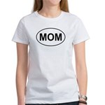 Mom European Oval Mother's Day Women's T-Shirt