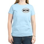 Mom European Oval Mother's Day Women's Light T-Shi