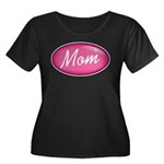 Pink Mom is my Idol Logo Women's Plus Size Scoop N