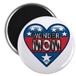 "Heart Wonder Mom Mother's 2.25"" Magnet (100 pack)"