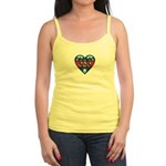 Heart Wonder Mom Mother's Jr. Spaghetti Tank
