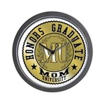 Mom University Honors Graduate Wall Clock