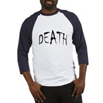 Death Halloween Baseball Jersey