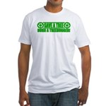 Save A Tree Fitted T-Shirt