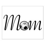 Pretty Soccer Mom Mother's Day Small Poster