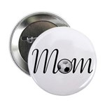 "Pretty Soccer Mom Mother's Day 2.25"" Button (10 pa"