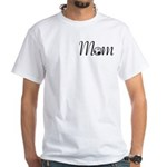 Pretty Soccer Mom Mother's Day White T-Shirt