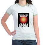 Out of this World Sci-Fi Mom Jr. Ringer T-Shirt