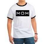 Dymo Black Label Me Mom Mother Ringer T
