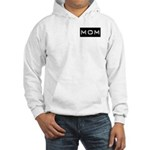 Dymo Black Label Me Mom Mother Hooded Sweatshirt