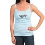 Baseball Swoosh Mom Mother's Jr. Spaghetti Tank