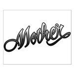 Mother Tattoo Art Text Small Poster