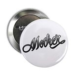 "Mother Tattoo Art Text 2.25"" Button (10 pack)"