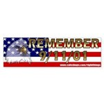 Remember September 11th Bumper Sticker