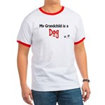 Dog Grandchild Ringer T
