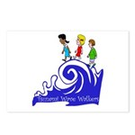 Tsunami Wave Walkers Postcards (Package of 8)
