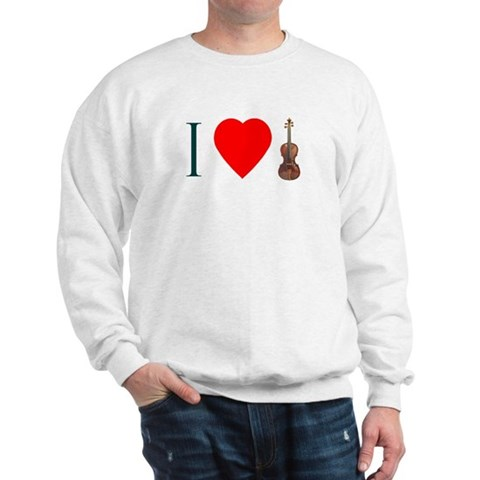 Violin Sweat Shirt