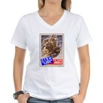Out of the Way! Women's V-Neck T-Shirt