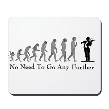 violinist mouse pad  evolution