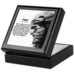 Plato Truth Reality Keepsake Box
