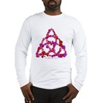 Hearts Triquetra Long Sleeve T-Shirt