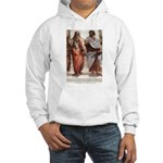 Plato Aristotle Philosophy Hooded Sweatshirt