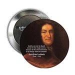 Gottfried Leibniz Metaphysics Button