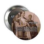 "Julius Caesar Pictures Quotes 2.25"" Button (100 pa"
