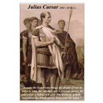 Julius Caesar Pictures Quotes Large Poster