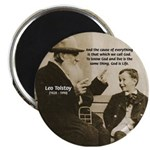 Leo Tolstoy: God Quotes Magnet