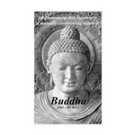 Buddha Buddhism Quote Picture Sticker (Rectangular