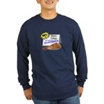 Bionic Turkey On Sale Long Sleeve Dark T-Shirt