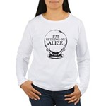 Betting On Alice Women's Long Sleeve T-Shirt