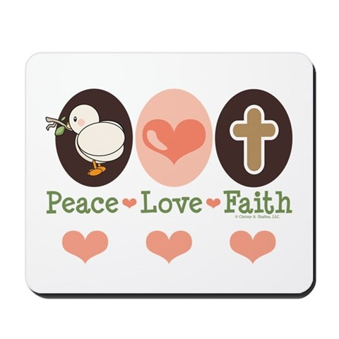 peace love and faith