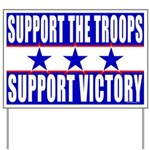 Support the Troops/Victory Yard Sign