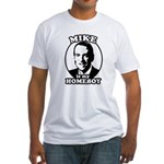 Mike Huckabee is my homeboy Fitted T-Shirt