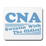 CNA Sweatin' With The Oldies Mousepad