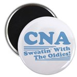 """CNA Sweatin' With The Oldies 2.25"""" Magnet (100 pac"""