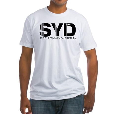 Sydney Australia SYD Air Wear Fitted T-Shirt