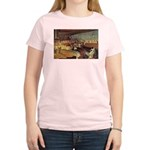 Cicero - Freedom Women's Pink T-Shirt