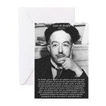de Broglie: Quantum Waves Greeting Cards (Package
