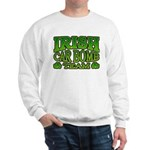 Irish Car Bomb Team Shamrock Sweatshirt