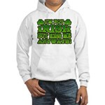 I'm Not Irish but Kiss Me Anyways Shamrock Hooded