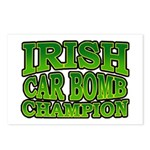 Irish Car Bomb Champion Shamrock Postcards (Packag